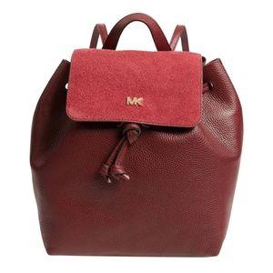 MICHAEL Michael Kors Junie Suede Flap Backpack